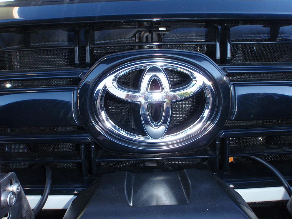 79 Toyota Landcruiser Fitout - Radiator protector mesh