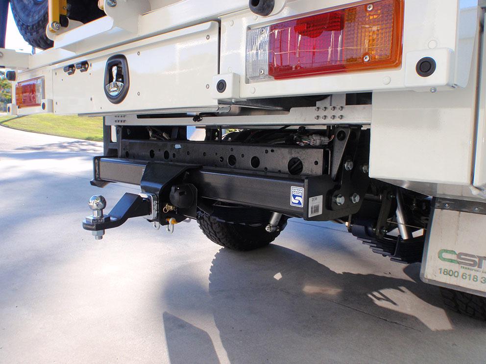 79 Toyota Landcruiser Fitout - Hayman Reese Towbar