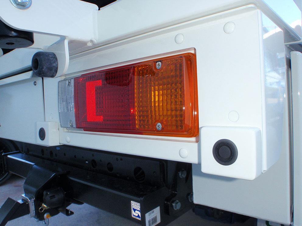 79 Toyota Landcruiser Fitout - Park assist sonar sensor