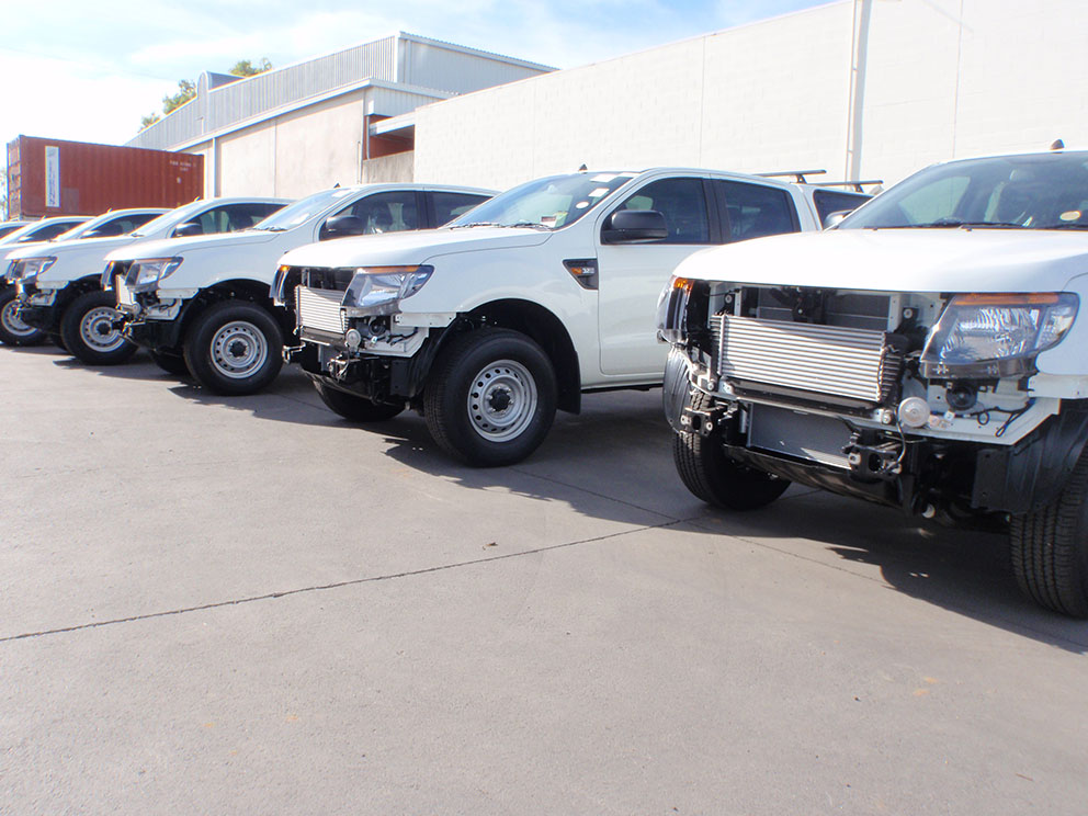 Ford Ranger PX Mass Production Fitout - Bullbars