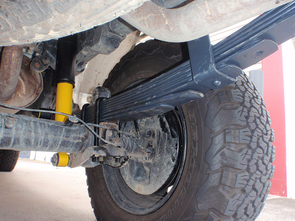 Toyota Hilux Suspension Upgrade - Bump stops after