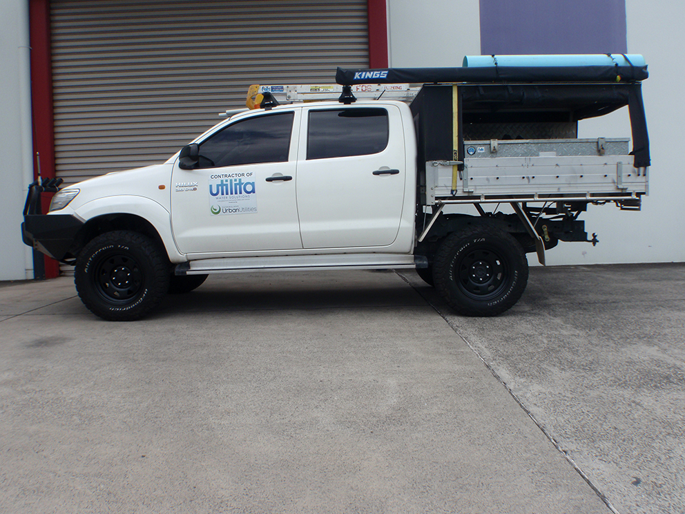 Toyota Hilux Suspension Upgrade - After