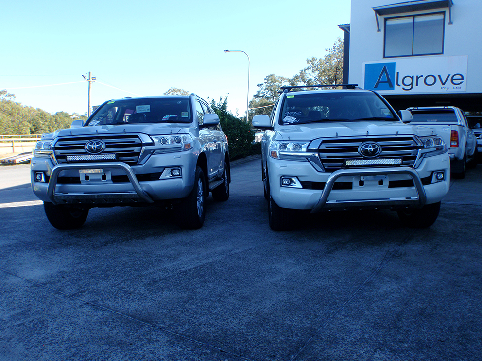 200 series Landcruiser Sahara fitout x2 vehicles