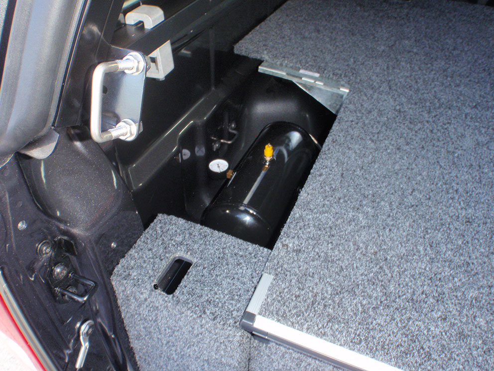 Ford Ranger - Air Compressor Concealed Installation Under Drawer System
