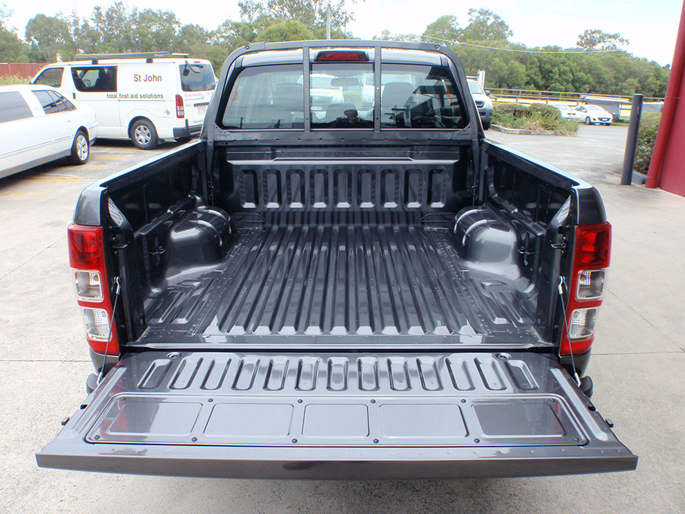 Ford Ranger Before Dual Battery System and Drawer System