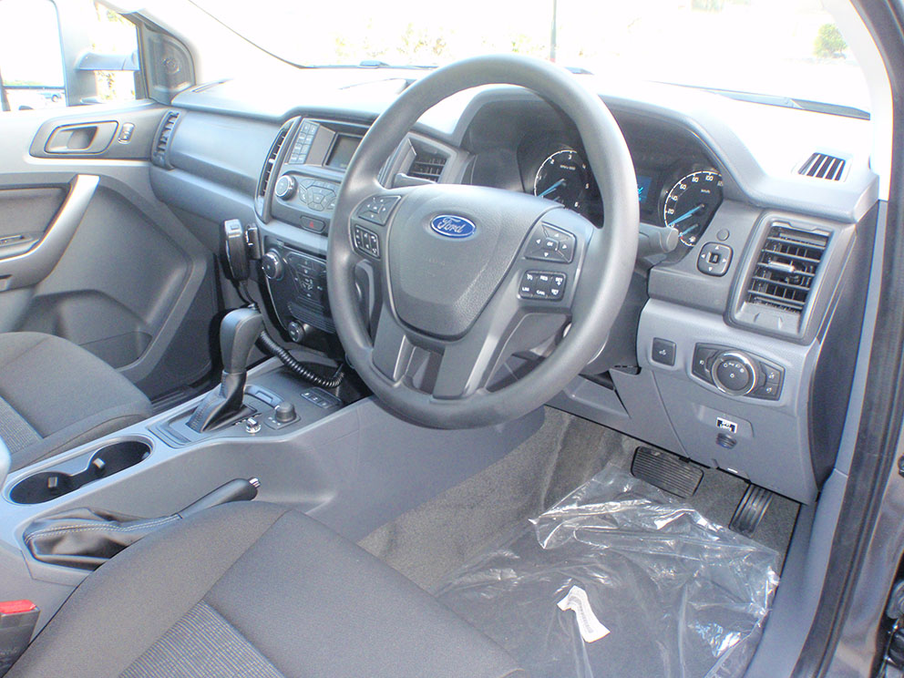 Ford Ranger interior right side