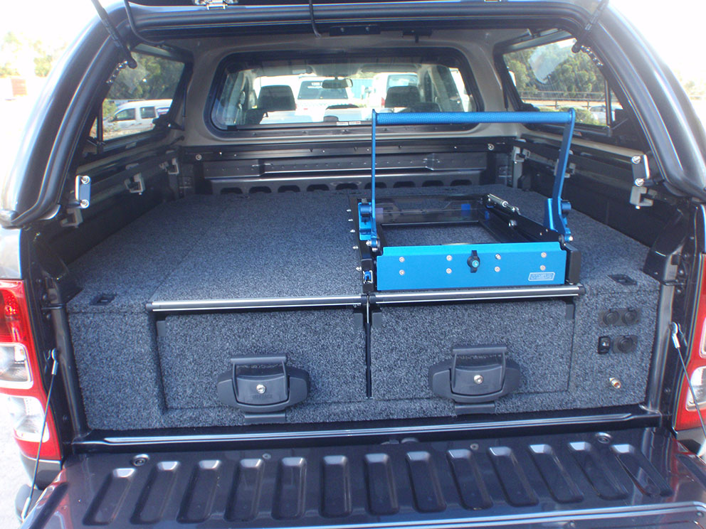 Ford Ranger - Outback 4WD interiors Drawer System