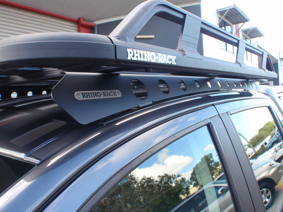 Ford Ranger Rhinorack Roof Tray with Backbone mount