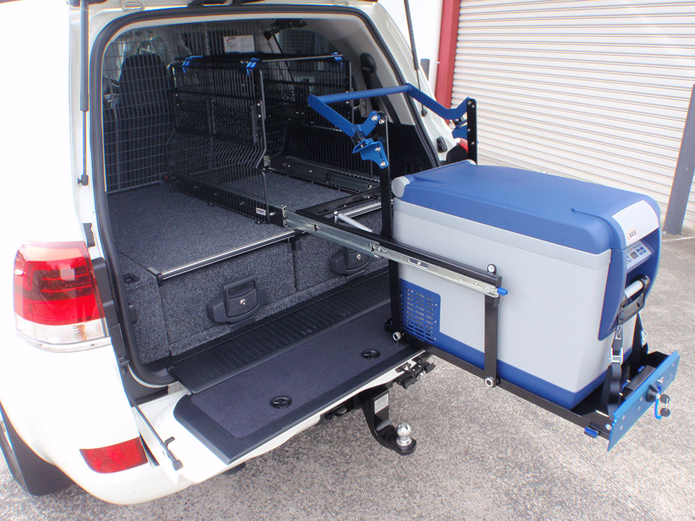 Type 1 - drawer system, cargo barrier, fridge barrier