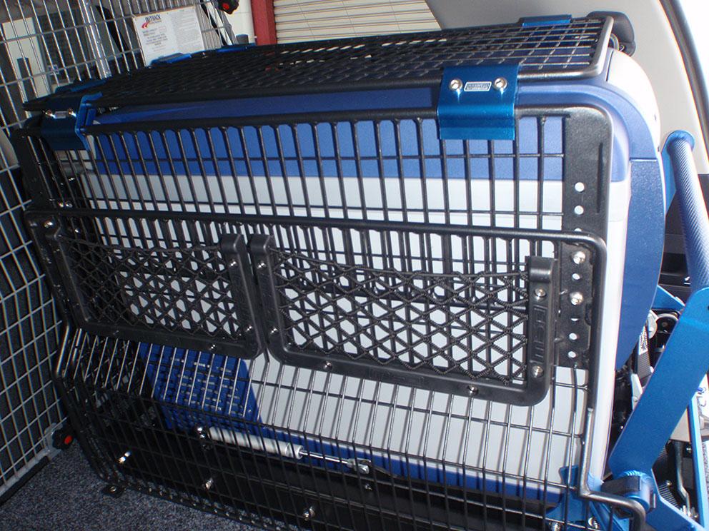 Type 1 - drawer system, cargo barrier, fridge barrier