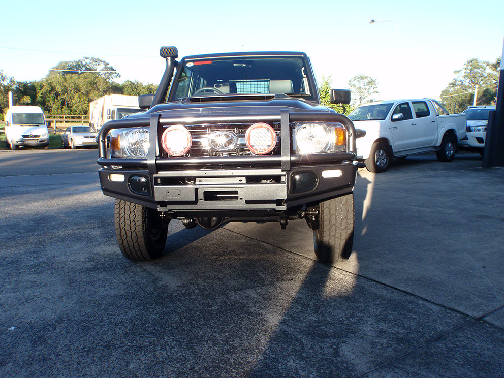 Landcruiser 79 after bullbar