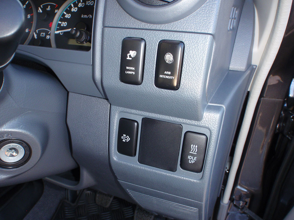 Landcruiser 79 after car specific switches