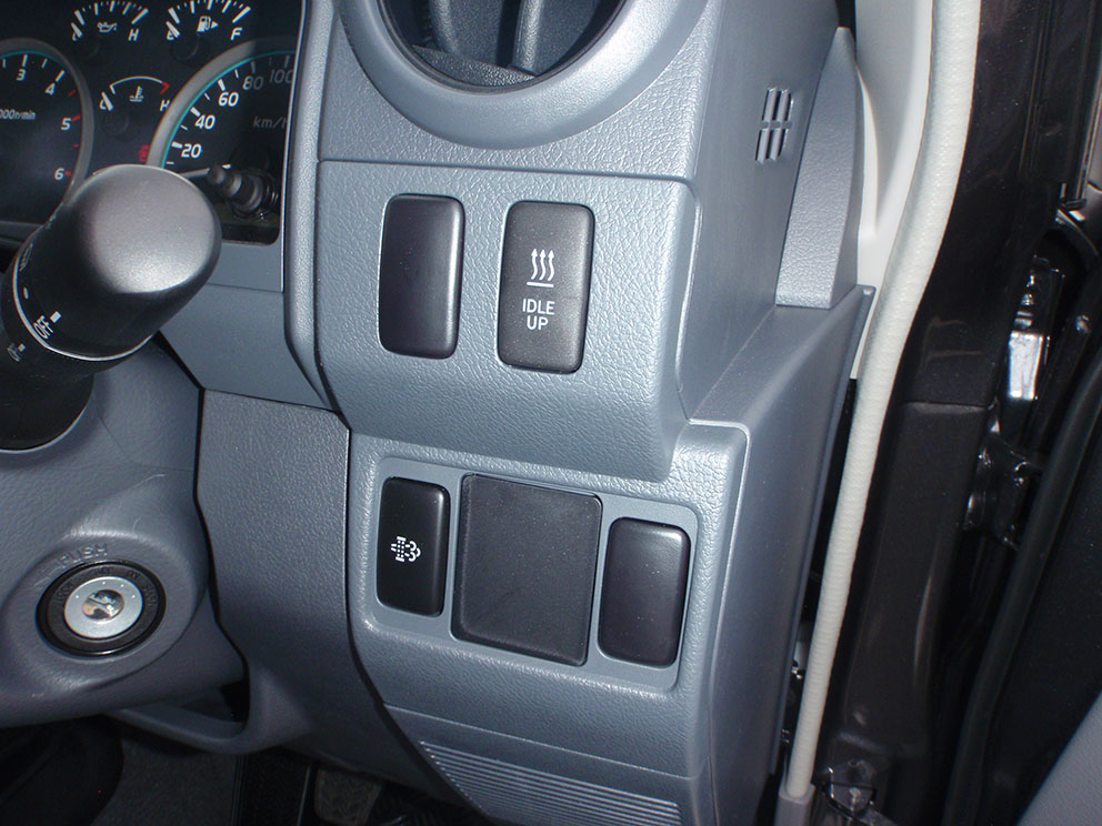 Landcruiser 79 before car specific switches