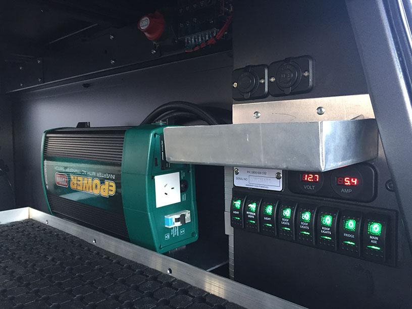 Landcruiser 79 inverter and switching