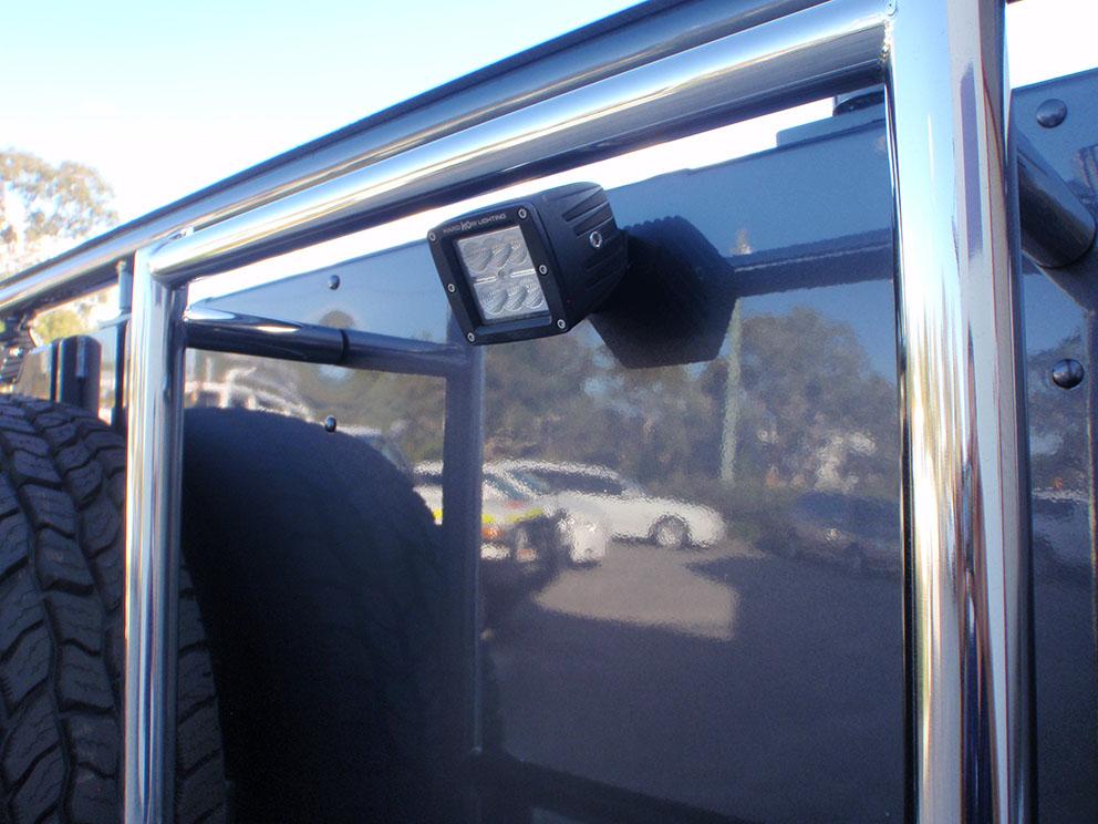 Landcruiser 79 work light